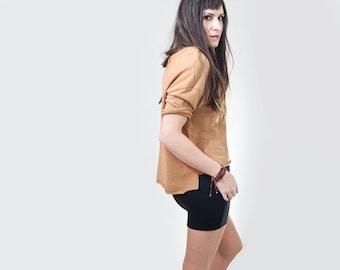 Mini Skirt | High Waist | Women's Skirts | Short Skirt | Tall Length | Ethically made in our USA loft | L415 & Co Clothing (#415-11)