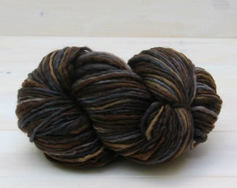 Manos del Uruguay - Wool Clasica - Chunky knitting wool - Colour: Graphite #6944 - 100g Hank pure wool - Chunky weight