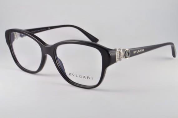 Bvlgari Eyeglasses BV 4089B 501 Black Size 52-15-140