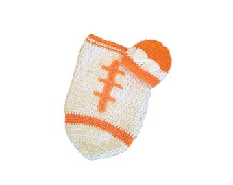 Univ of Tennessee Baby Girl Football Cocoon (Newborn to 3 months)