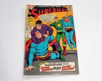 Comic Book Superman DC Comics #200 October 1967 Silver Age