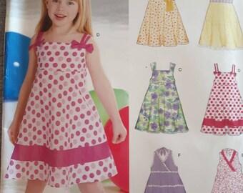 New Look 6613, Girl's Dress Pattern