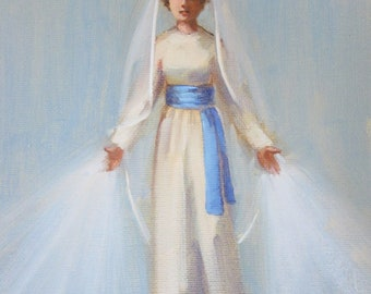 Our Lady of Grace I...Original Oil Painting by Maresa Lilley, SND