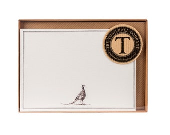 Pheasant Correspondence Postcards