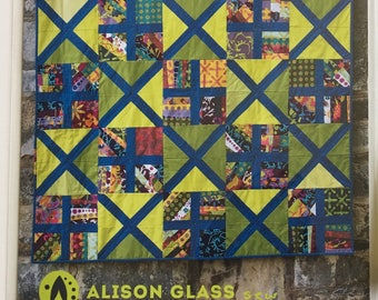 Alternative Quilt Pattern by Alison Glass and Nydia Kehnle PATTERN ONLY