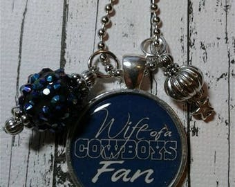 Wife of a Dallas Cowboys Fan Necklace