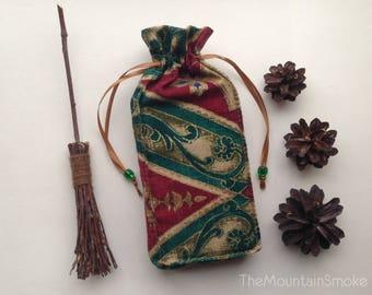 Handmade Tarot Runes Stones Bag Pouch