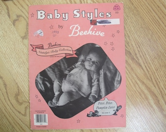 Baby Styles by Beehive Book 901 / Nostalgic baby collection / baby knitting patterns