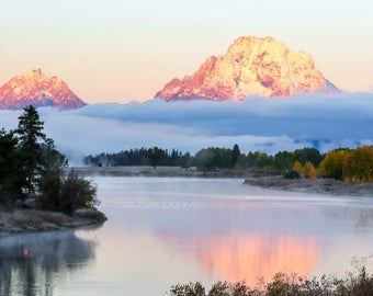 Frosty Morn at Oxbow Bend