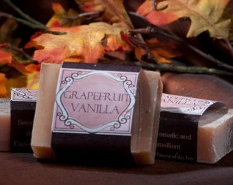 Soap Bars - Grapefruit Vanilla
