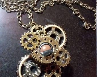 Steampunk Dolleye Necklace