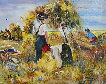 Hardworking peasants