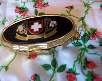 vintage switzerland compact sewing kit