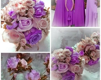 Wedding Flower Package 14 pieces custom made to order