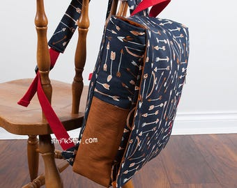 Ruther Backpack PDF Sewing Pattern (#1281)