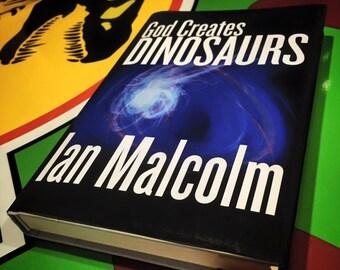 God Creates Dinosaurs replica book cover digital download