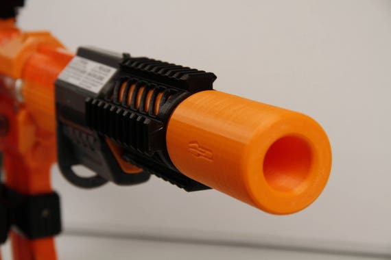 NERF N-Strike SPECTRE REV-5 Gun Barrel Silencer & Folding Stock (No