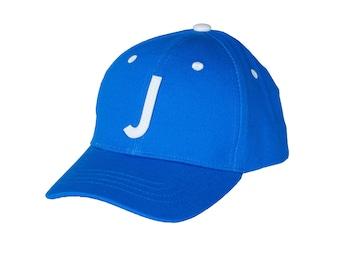 Jack & Winn Baby Boy Letter J Royal Blue Snapback Baseball Hat