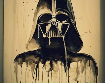 Star Wars Darth Vader Custom Painting