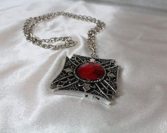 Vampire Necklace, Vampire Medallion, costume