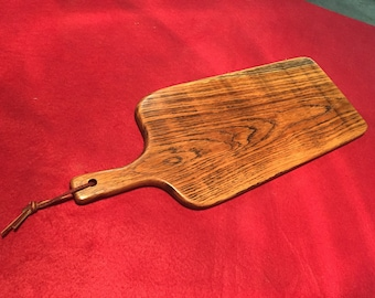 Solid oak vintage style cutting board