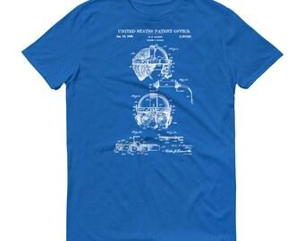 1940 Welder's Goggles Patent T-Shirt - Patent Shirt, Vintage Tools, Old Patent T-shirt, Goggles T-Shirt, Steampunk T-Shirt, Welding Patent