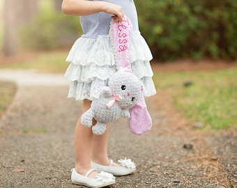 Personalized Bunny, Custom Easter Bunny, Bunny Plush, Bunny Stuffed Animal, First Easter Bunny, Baby Shower Gift, Bunny Stuffie, Soft Bunny