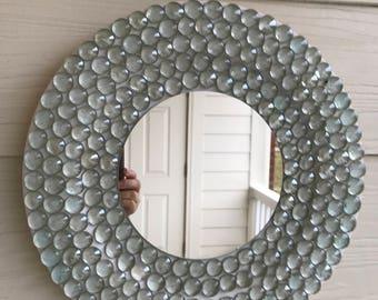 Wood Mirror - Wall Mirror - Home Decor