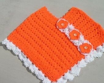 Orange Blossom CROCHET PONCHO PATTERN