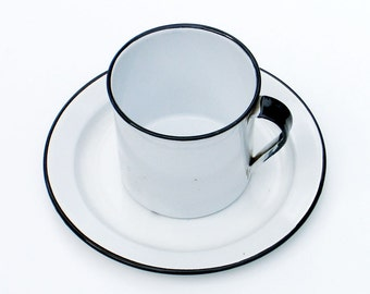 Enamelware Extra Large Cup