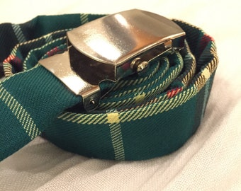 Plaid Belt Newfoundland Tartan - Plaid Belt - Tartan Belt