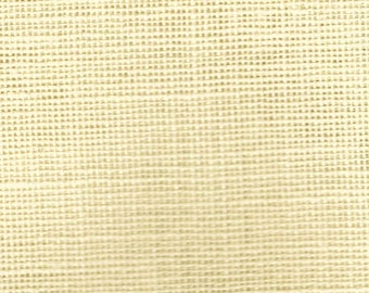 """18 Count Pre-Packaged Linen by Wichelt - Ivory - Fat Quarter  (18"""" x 27"""")"""