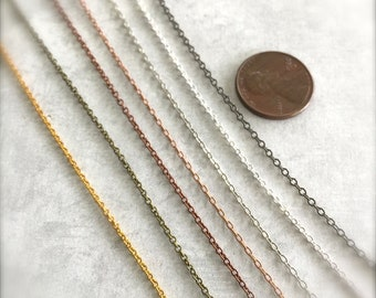 Necklace Chains - Assorted Lengths and Colors - by Bullseyebeads