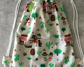 Child bag, DrawString bag, pouch