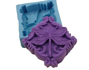 Dragonfly 0815 Craft Art Silicone Soap mold Craft Molds DIY Handmade soap molds