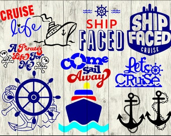 Cruise Ship Svg Files Cruise Clipart Cruise Boat Svg Use