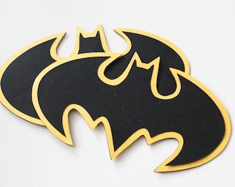 Batman Invitations | Bat Symbol | Other Colors Available