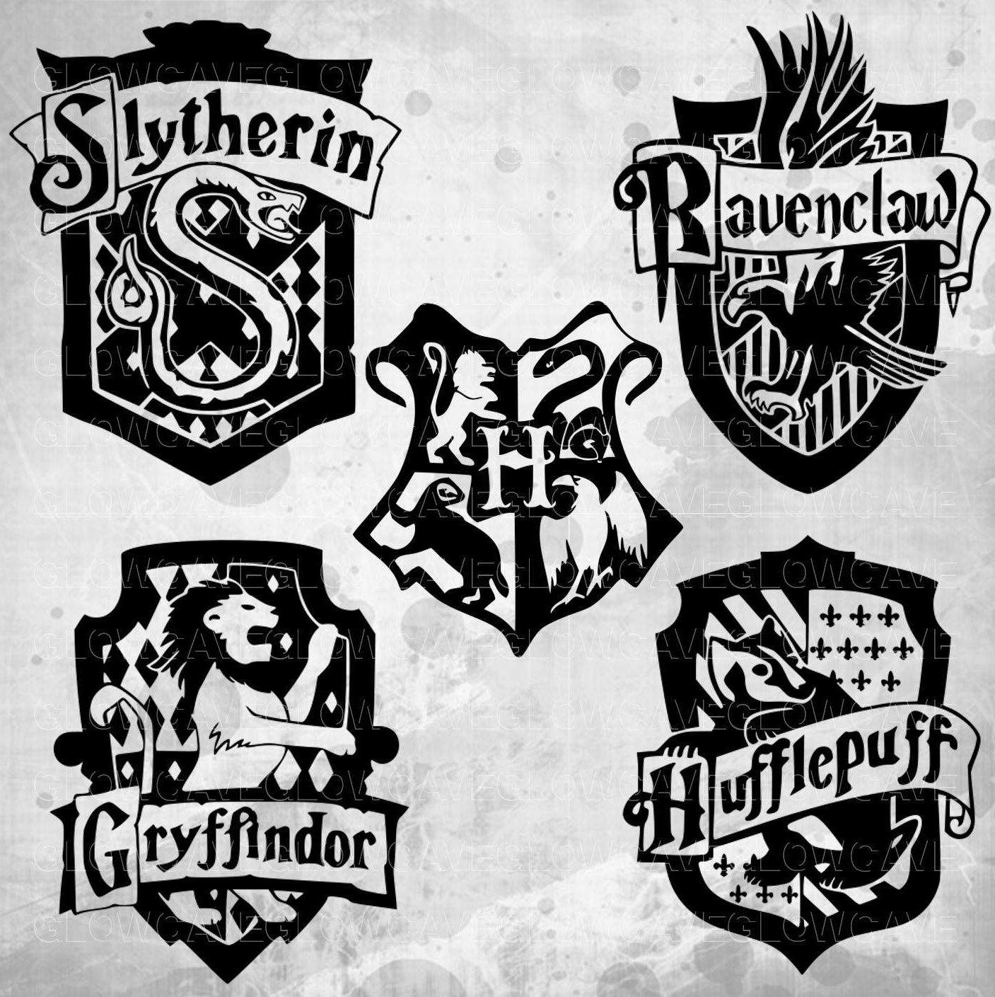 Harry potter svg Svg Dxf Png Eps hogwarts Harry Potter