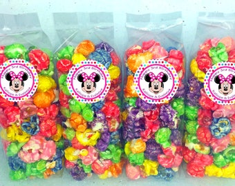 Minnie Popcorn Party Favor Bags