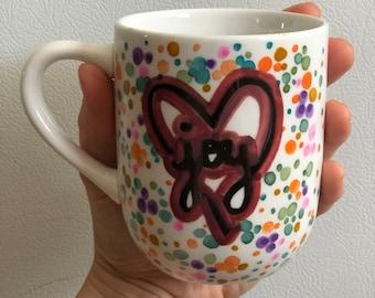 Joy Coffee Mug Coffee Cup