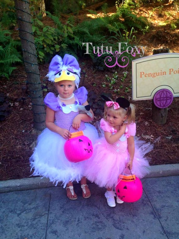 sc 1 st  Etsy & Daisy Duck Costume Daisy Duck Tutu Dress Daisy Duck Dress