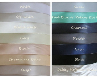 Wedding Sash Swatch, Bridal Sash Swatch, Wedding Belt Swatch Sample, Bridal Belt Swatch, Ribbon Samples for Wedding Sashes, Belts, Headbands