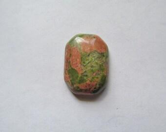 Green and Rust Unikite Gemstones
