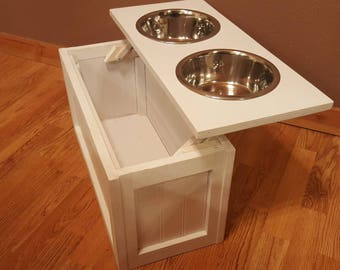 view in gallery your creative diy food feeder storage and for pet dog bowl dresser ideas