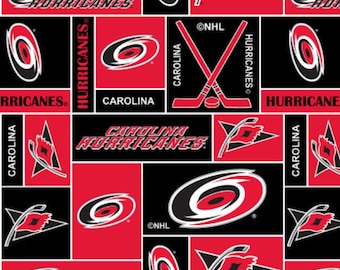 Nhl Washington Capitals Hockey 100 Fleece Fabric Material By
