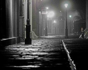 Pirates Alley, New Orleans, New Orleans Print, New Orleans Photograph, French Quarter Art, New Orleans Art, Black and White, cajun art