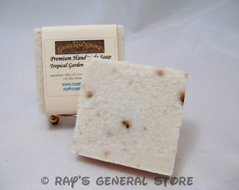 Tropical Garden Greek Yogurt Handmade Soap - Free Shipping