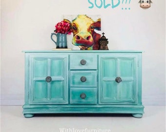 Farmhouse Style Buffet / Credenza / Tv Stand / Cabinet / Storage /Accent Piece