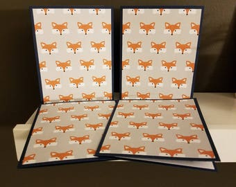 Fox Note Card Set