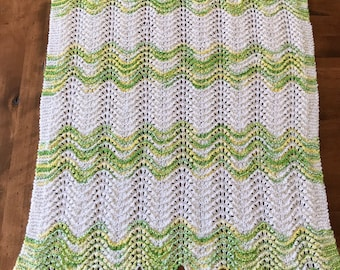 Lime Suprise Baby Blanket